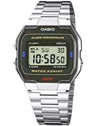 Casio Herren Armbanduhr Collection Digital Quarz A163Wa-1Qes