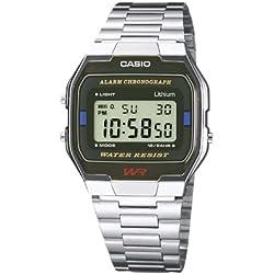 Casio Unisex WatchA163WA-1QES