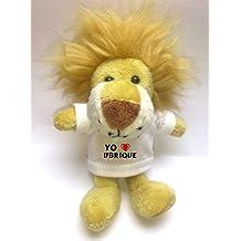 León de peluche (llavero) con Amo Ubrique en la camiseta (ciudad / asentamiento)