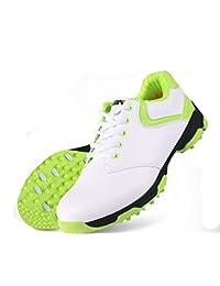 PGM , Damen Golfschuhe, Grün - Weiß-grün - Größe: 38