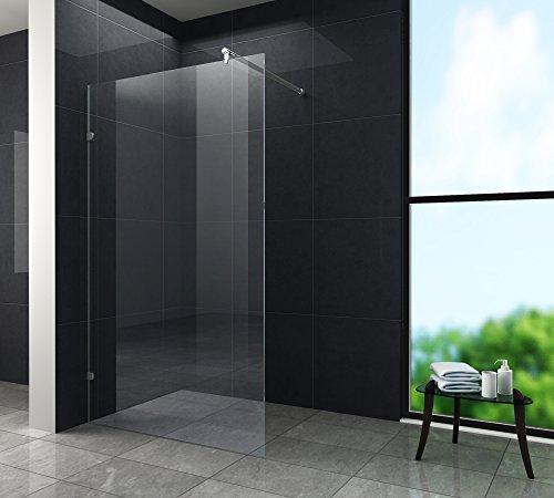duschwand freistehend 10 mm Duschwand SLIM 120 x 200 cm