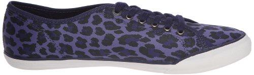 Le Coq Sportif Deauville Lp Leopard, Baskets mode femme Bleu (Blue)