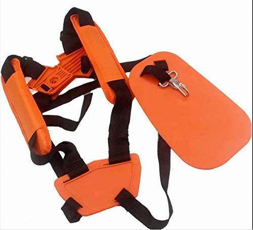 Accesorios cortacésped Nadder bandolera naranja lateral doble hombro