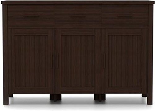 Urban Ladder Norland Side Board (Dark Walnut)