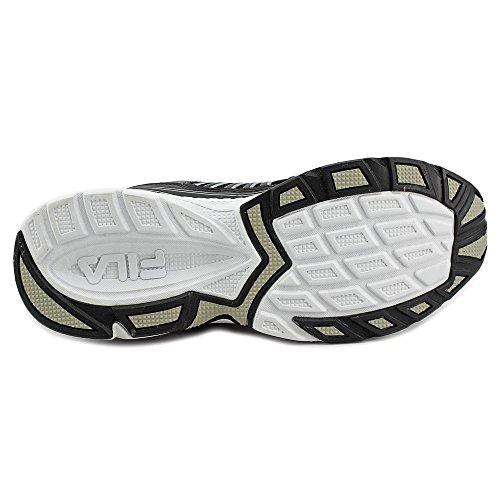 Fila Inspell Hommes Synthétique Chaussure de Course Black-Wht-mslvr