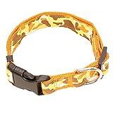Feidaeu Hundehalsband Hundekatze einstellbar bequem, atmungsaktiv, Halsband Halsband Leine für kleine mittelgroße Haustier Traktion liefert