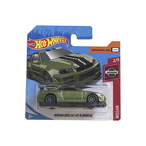Mattel Cars Hot Wheels Nissan GT-R (BNR34) 45/250 2019 Short Card