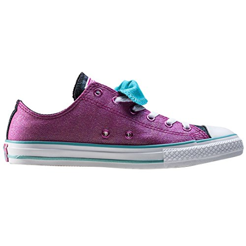 Converse Unisex-Kinder All Star Double Tongue Sneaker Pink