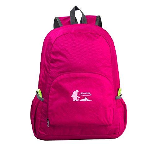 Liebhaber des Outdoor-Bergsteigen-Tasche/Faltbar/ Ultralight Rucksack J