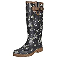 Northwest Territory Women Wellington Boots Calf Length Shoes