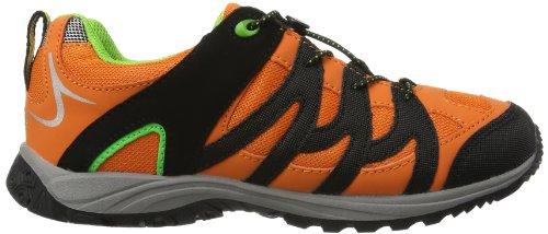 Bruetting Vision Low Kids, Scarpe da escursionismo e trekking unisex bambino Arancione (Orange (orange/schwarz/grün))