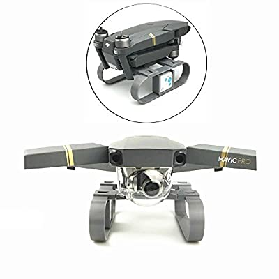 Fascinated Drone 3D Printed Mavic Pro Lengthened Height Extender Landing Gear Stabilizer with RF-V16 GPS Holder Bracket for DJI MAVIC PRO from Fascinated Drone