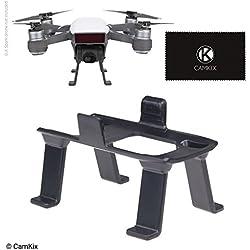 Aterrizaje Engranaje para DJI Spark – Altura extra y seguridad – Da su DJI Drone Distancia al suelo – Máxima estabilidad – Distancia entre la cámara / Gimbal y la superficie – Ajuste seguro – Fácil de instalar