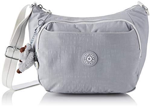 Kipling Damen CAI Umhängetasche, Grau (Active Grey Bl) 28x22x14 cm