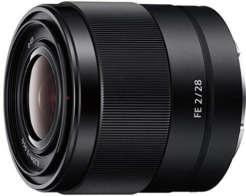 Foto Sony SEL28F20   Obiettivo con focale fissa 28 mm F 2.0, Full-Frame, Innesto E, SEL28F20, Nero