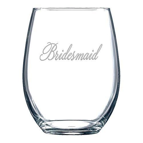 Demoiselle d'honneur en verre de vin