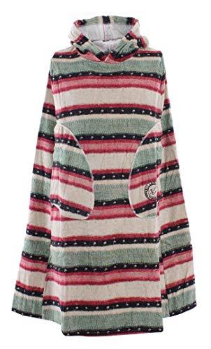 BILLABONG Womens Hooded Poncho oder Wickeltuch für Strand Wassersport & Surfen - Sugarpine L4BR10