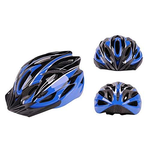 Yanchad Outdoor-Sportschutzausrüstung Fahrradhelm, Mountainbike Helm Vents Einstellbare Komfortable Schutzhelm für Outdoor Sport Riding Bike