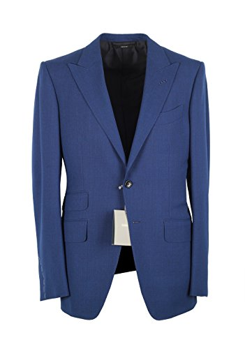 CL - TOM FORD O'Connor Royal Blue Suit Size 56 / 46R U.S. Wool Fit Y