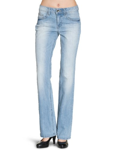 ESPRIT - Jeans boot cut, donna, blu (Blau (light vintage 943)), 40/42 IT (27W/34L)