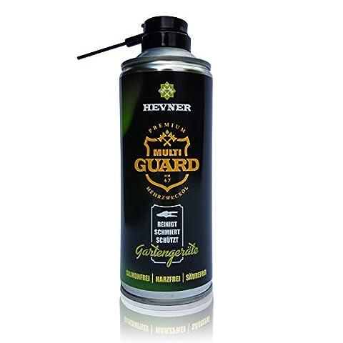 HEVNER Premium Multi-GUARD Pflegespray für Gartengeräte, mit dem angenehmen Vanille-Duft, 400ml