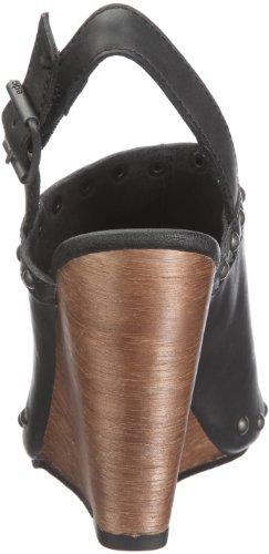 edc by Esprit HEGE SLIDE R49535, Chaussures femme Noir - V.9