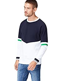 FIND Sweat-Shirt Multicolore Homme