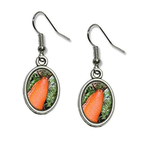grand-orange-limace-escargot-mollusk-pendentif-fantaisie-boucles-doreilles-charme-ovale
