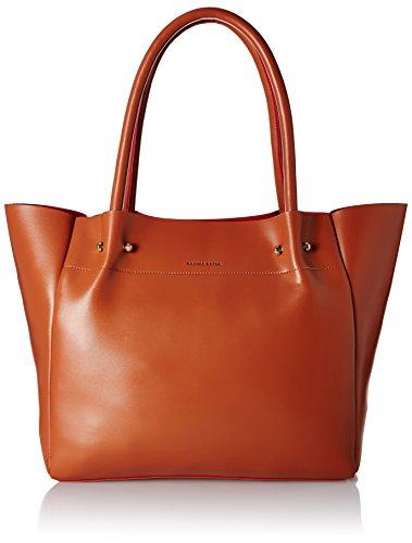 Kanvas Katha Faux Leather Overisized Handbag (Tan) (KKZTT004)