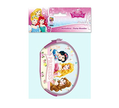 Astro AST0761, Disney Prinzessinnen ovale Geldbörse, Prinzessin 8,5x12x2 cms