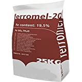 Iron Sulphate 25KG PREMIUM Lawn Conditioner & Lawn Feed - Ferrous Sulphate / Sulphate of Iron - EASY DISSOLVE, EASY SPRAY, EASY SPREAD
