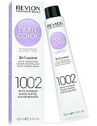 REVLON PROFESSIONAL Nutri Color Creme Soin Couleur Repigmentant 1002 Blanc Platine, 100ml
