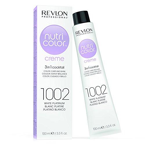 REVLON PROFESSIONAL Nutri Color Creme Nr. 1002 White Platinum, 100 ml