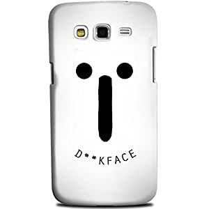 CASE U Back Cover Face Designer Case for Samsung Galaxy Grand 2