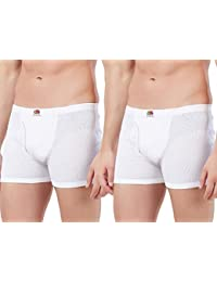 Fruit of the Loom Men's Solid Cotton Trunks (Pack of 2)