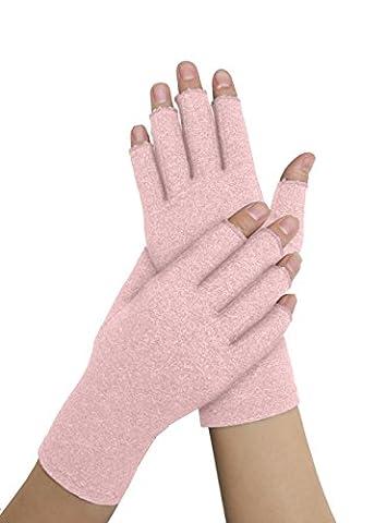 Arzt Entwickelt Damen Arthritis Kompressions-Handschuhe und Arzt beschrieben Handbuch–lindert Symptome