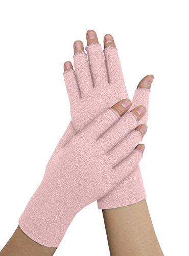 Von Ärzten Entwickelte Arthritis Kompressions-Handschuhe für Damen und von Ärzten verfasstes Handbuch – lindert die Symptome von Arthritis, des Raynauds Syndroms & Karpaltunnelsyndroms (M) (Arzt Handschuhe)