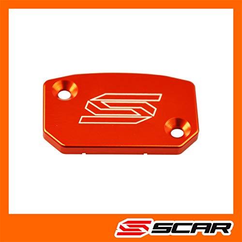 Kupplungszylinder deckel SX SXF EXC EXCF 125 150 250 300 350 450 500 SCAR - Orange