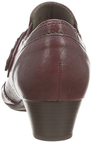 Gabor Eleanora, Escarpins Femme Rouge (dark Red Leather)