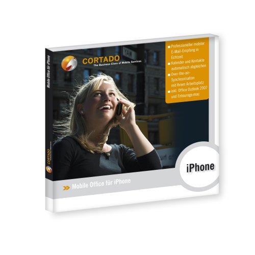 Cortado mobile Office für iPhone und iPod Touch (MS Exchange Push Mail Service für Apple iPhone und iPod Touch inkl. Microsoft Outlook 2010 für Windows oder Microsoft Outlook 2011 für Mac) -