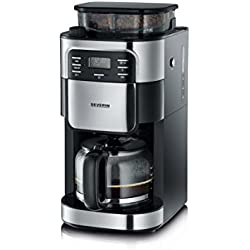 Severin KA 4810 - Cafetera con molinillo integrado, color negro