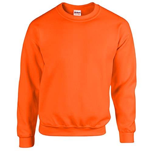 Jake*s damen Pullover mit Tunnelzug am Saum Dunkel Orange