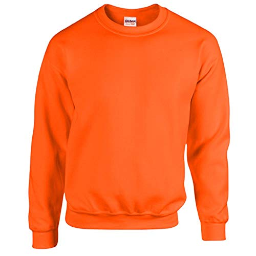 Gildan - Heavy Blend Sweatshirt / Safety Orange, L