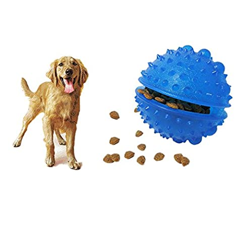 Pet Food box Educational Chew Toys Slow Feeder Food Spills Ball Dog Toy Smarter Interactive IQ Treat