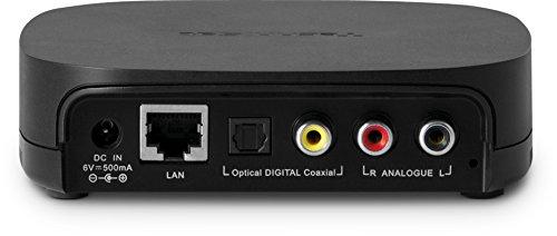 TechniSat DIGITRADIO MR1 / Internet-Radio, Multiroom-Adapter, WLAN-Verteiler für Audio auf z. B. Hi-Fi-Anlagen, Spotify Connect, schwarz