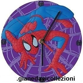 Horloges pvc spiderman violet