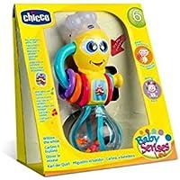 Chicco - Miguelito el batidor, divertido sonajero para bebés