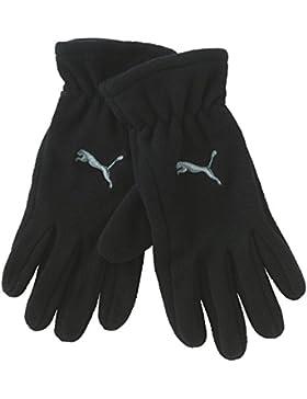 Puma Fundamentals - Guantes de forro polar negro marrón Talla:xx-small