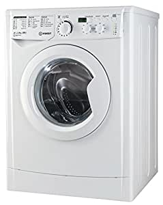 Indesit EWD 81252 W IT.M Freestanding Front-load 8kg 1200RPM A++ White washing machine - washing machines (Freestanding, Front-load, White, Left, Green, White)