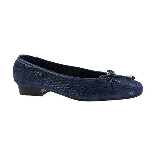 Riva , Sandales Compensées femme Bleu - Bleu marine